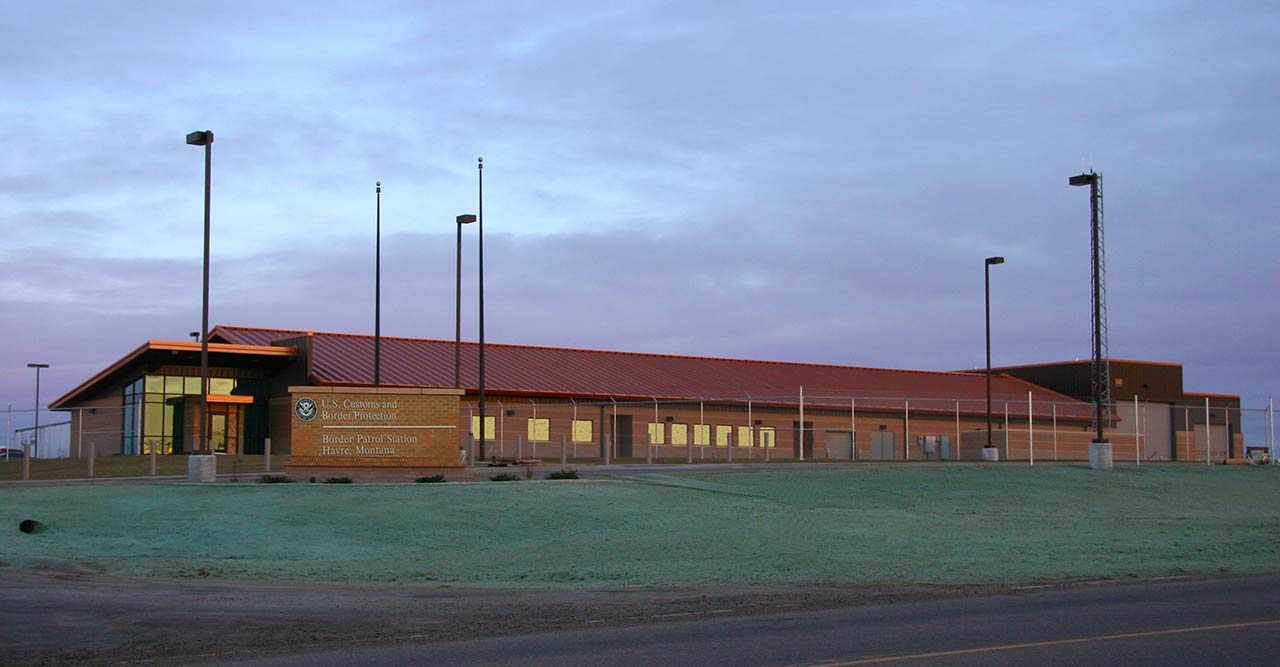 New Construction Havre Border Patrol Station